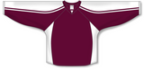 Athletic Knit (AK) H7600 Maroon/White Select Hockey Jersey - PSH Sports