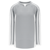 Athletic Knit (AK) H7600-245 Grey/White Select Hockey Jersey