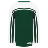 Athletic Knit (AK) H7600A-260 Adult Dark Green/White Select Hockey Jersey