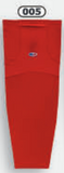 Athletic Knit (AK) HS1100-005 Red Mesh Cut & Sew Ice Hockey Socks