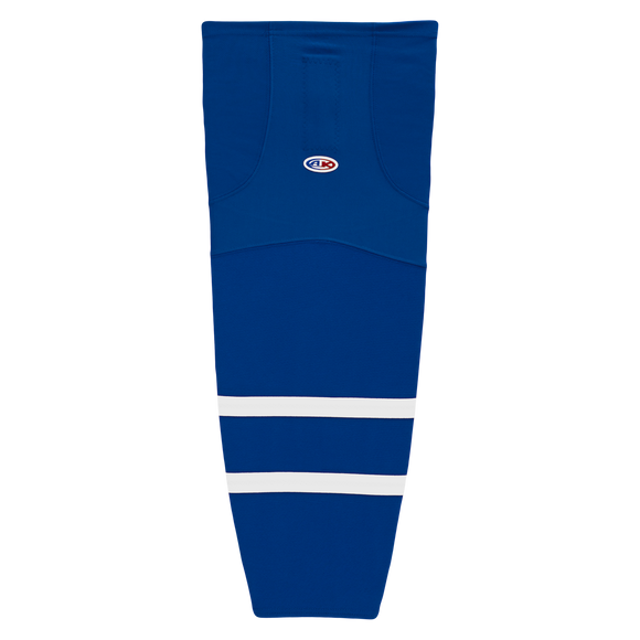 Athletic Knit (AK) HS2100  Old Toronto Maple Leafs Royal Blue Mesh Cut & Sew Ice Hockey Socks