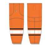 Athletic Knit (AK) HS2100 Philadelphia Flyers Orange Mesh Cut & Sew Ice Hockey Socks - PSH Sports