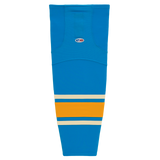 Athletic Knit (AK) HS2100-442 2016 St. Louis Blues Winter Classic Blue Mesh Cut & Sew Ice Hockey Socks