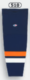 Athletic Knit (AK) HS2100-510 New York Islanders Navy Mesh Cut & Sew Ice Hockey Socks