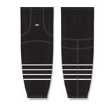 Athletic Knit (AK) HS2100 2015 New York Islanders Third Black Mesh Cut & Sew Ice Hockey Socks - PSH Sports