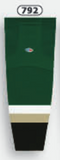 Athletic Knit (AK) HS2100-792 New Texas (Dallas) Stars Dark Green Mesh Cut & Sew Ice Hockey Socks