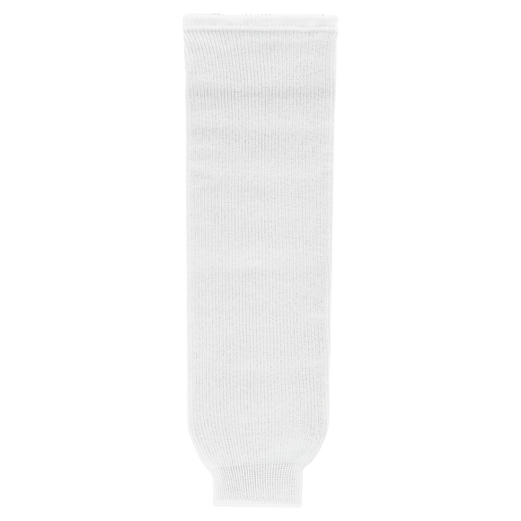 Athletic Knit (AK) HS630-000 White Knit Ice Hockey Socks