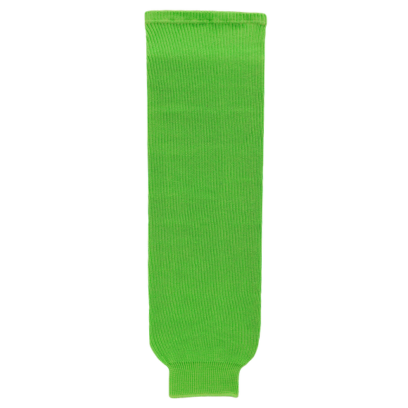 Athletic Knit (AK) HS630-031 Lime Green Knit Ice Hockey Socks