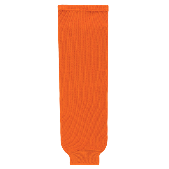 Athletic Knit (AK) HS630-064 Orange Knit Ice Hockey Socks
