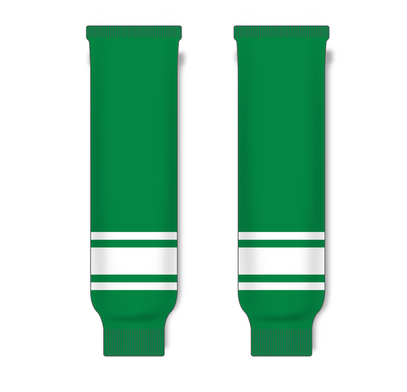 Athletic Knit (AK) HS630 Toronto St. Pats Kelly Green/White Knit Ice Hockey Socks - PSH Sports