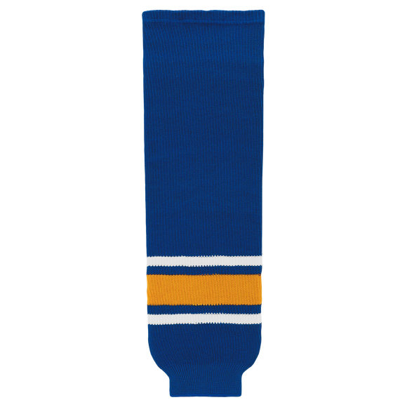 Athletic Knit (AK) HS630-316 Old St. Louis Blues Royal Blue Knit Ice Hockey Socks