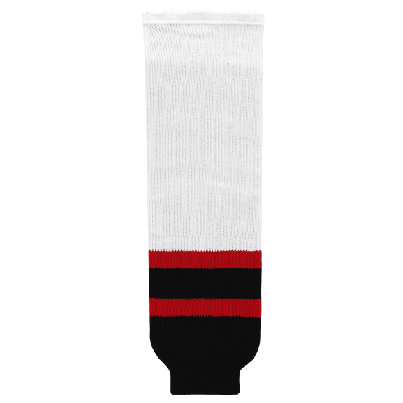 Athletic Knit (AK) HS630 Ottawa Senators White Knit Ice Hockey Socks