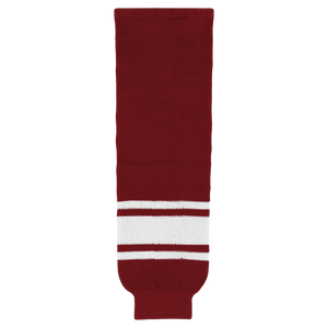 Athletic Knit (AK) HS630-362 Arizona Coyotes Red Knit Ice Hockey Socks