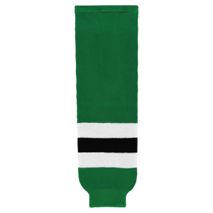 Athletic Knit (AK) HS630-376 2013 Dallas Stars Kelly Green Knit Ice Hockey Socks