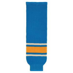 Athletic Knit (AK) HS630-442 2016 St. Louis Blues Winter Classic Blue Knit Ice Hockey Socks