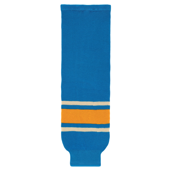 Athletic Knit (AK) HS630-442 2016 St. Louis Blues Winter Classic Blue Ice Hockey Socks