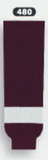 Athletic Knit (AK) HS630-480 Peterborough Petes Maroon Knit Ice Hockey Socks