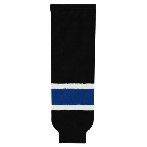 Athletic Knit (AK) HS630-487 2014 Tampa Bay Lightning 3rd Black Ice Hockey Socks