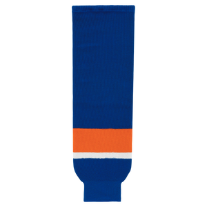 Athletic Knit (AK) HS630-490 2010 New York Islanders Royal Blue Knit Ice Hockey Socks