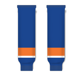 Athletic Knit (AK) HS630 2010 New York Islanders Royal Blue Ice Hockey Socks - PSH Sports