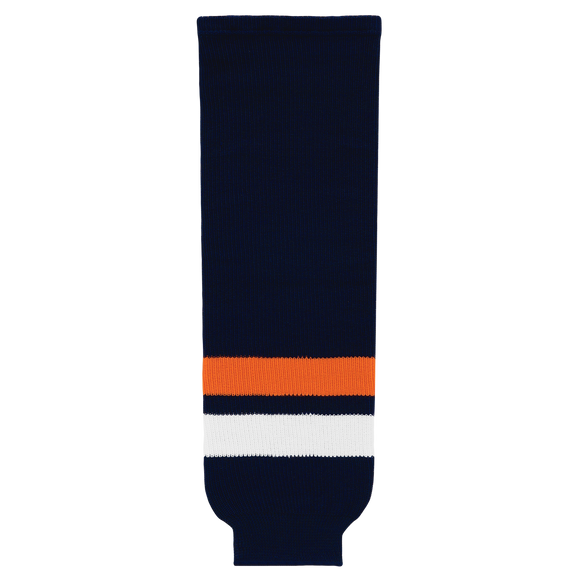 Athletic Knit (AK) HS630-510 New York Islanders Navy Ice Hockey Socks
