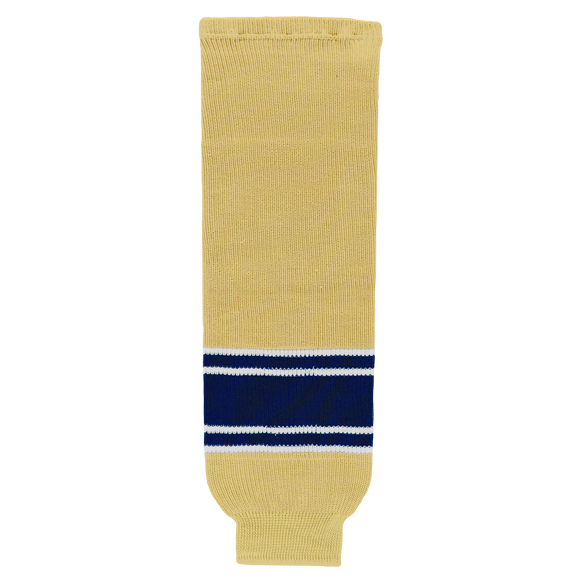 Athletic Knit (AK) HS630-522 University of Notre Dame Fighting Irish Vegas Gold Ice Hockey Socks