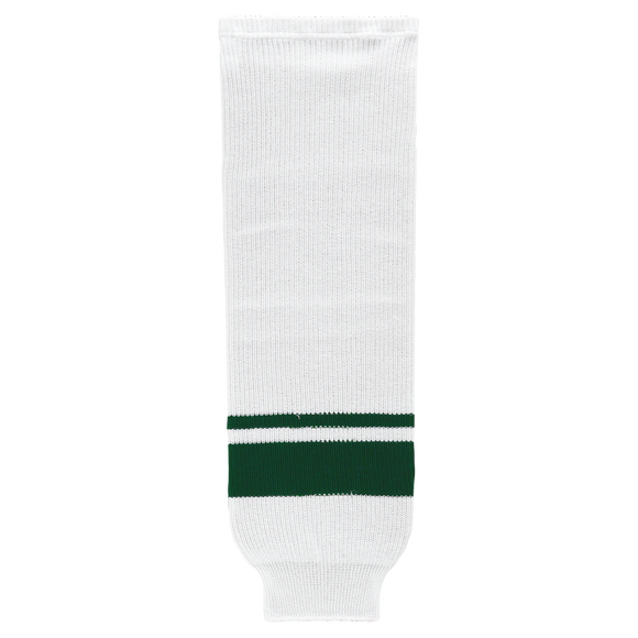 Athletic Knit (AK) HS630-565 2013 Minnesota Wild White Ice Hockey Socks
