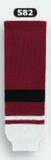 Athletic Knit (AK) HS630-582 2015 Arizona Coyotes AV Red Ice Hockey Socks