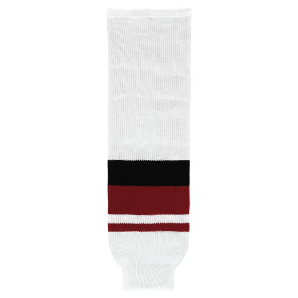 Athletic Knit (AK) HS630-583 2015 Arizona Coyotes White Ice Hockey Socks