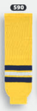 Athletic Knit (AK) HS630-590 2011 University of Michigan Wolverines Maize Ice Hockey Socks
