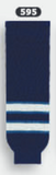 Athletic Knit (AK) HS630-595 2011 Winnipeg Jets Navy Knit Ice Hockey Socks