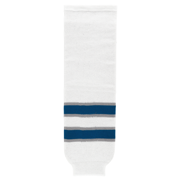 Athletic Knit (AK) HS630-596 2011 Winnipeg Jets White Ice Hockey Socks