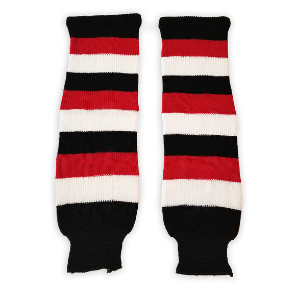 Athletic Knit (AK) HS630 Ottawa 67's Away Knit Ice Hockey Socks