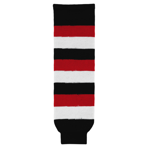 Athletic Knit (AK) HS630-608 Ottawa 67's Away Knit Ice Hockey Socks
