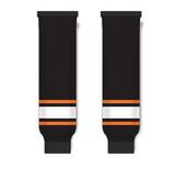 Athletic Knit (AK) HS630 Philadelphia Flyers Third Black Ice Hockey Socks - PSH Sports