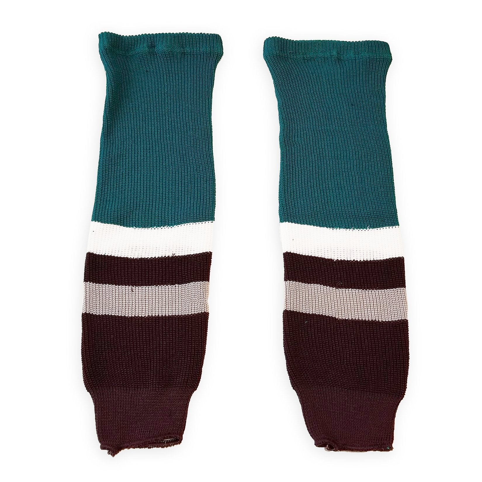 competitive price 74223 95070 Athletic Knit (AK) HS630 Anaheim Mighty Ducks Eggplant Ice ...