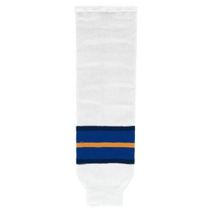 Athletic Knit (AK) HS630-649 1998 St. Louis Blue White Knit Ice Hockey Socks