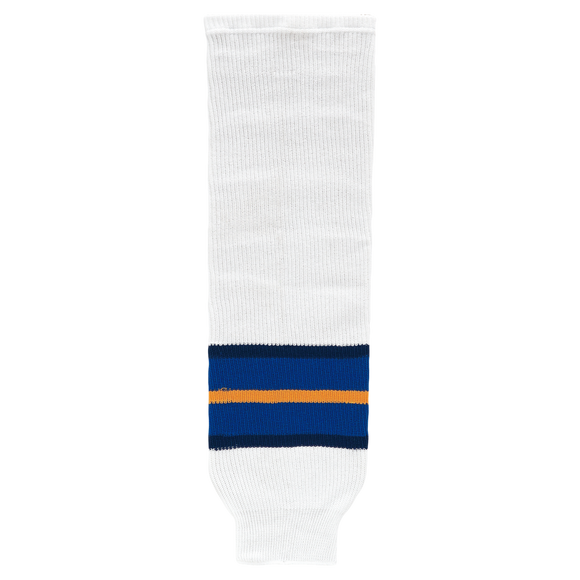 Athletic Knit (AK) HS630-649 1998 St. Louis Blue White Ice Hockey Socks