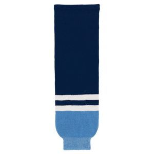 Athletic Knit (AK) HS630-665 2010 Florida Panthers Third Navy Knit Ice Hockey Socks