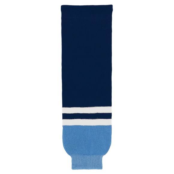Athletic Knit (AK) HS630 2010 Florida Panthers Third Navy Ice Hockey Socks