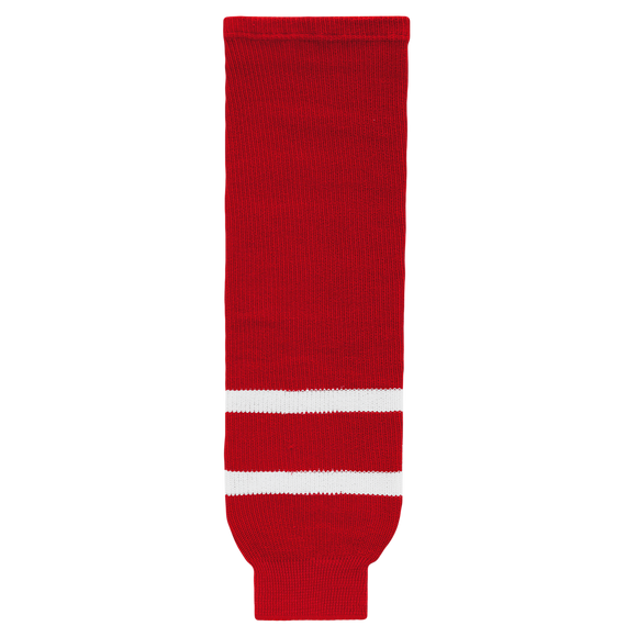 Athletic Knit (AK) HS630 2010 Team Canada Red Ice Hockey Socks