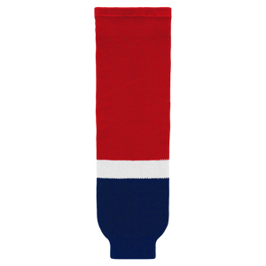 Athletic Knit (AK) HS630-808 2013 Washington Capitals Red Ice Hockey Socks