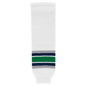 Athletic Knit (AK) HS630-944 Hartford Whalers White Ice Hockey Socks
