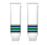 Athletic Knit (AK) HS630 Hartford Whalers White Ice Hockey Socks - PSH Sports