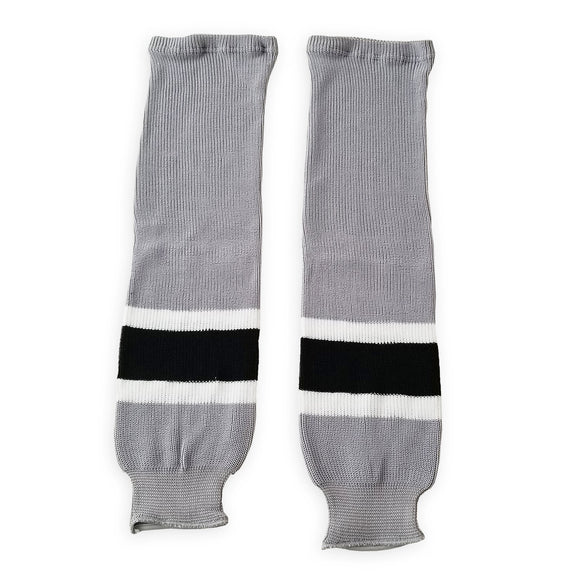 Athletic Knit (AK) HS630 Los Angeles Kings Stadium Series Grey Ice Hockey Socks