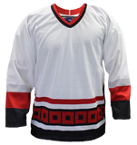 SP Apparel League Series Carolina Hurricanes White Sublimated Hockey Jersey - PSH Sports