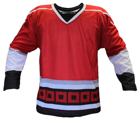 SP Apparel Evolution Series Carolina Hurricanes Red Sublimated Hockey Jersey - PSH Sports