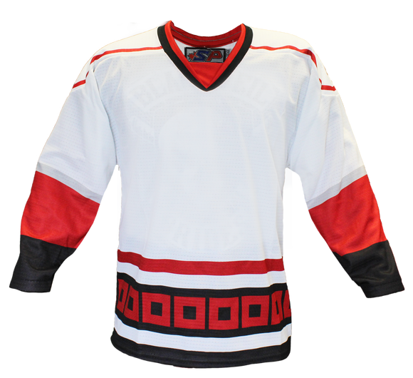 SP Apparel Evolution Series Carolina Hurricanes White Sublimated Hockey Jersey - PSH Sports