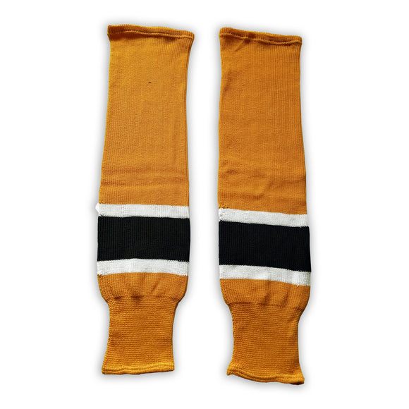 K1 Sportswear Boston Bruins Gold Knit Ice Hockey Socks