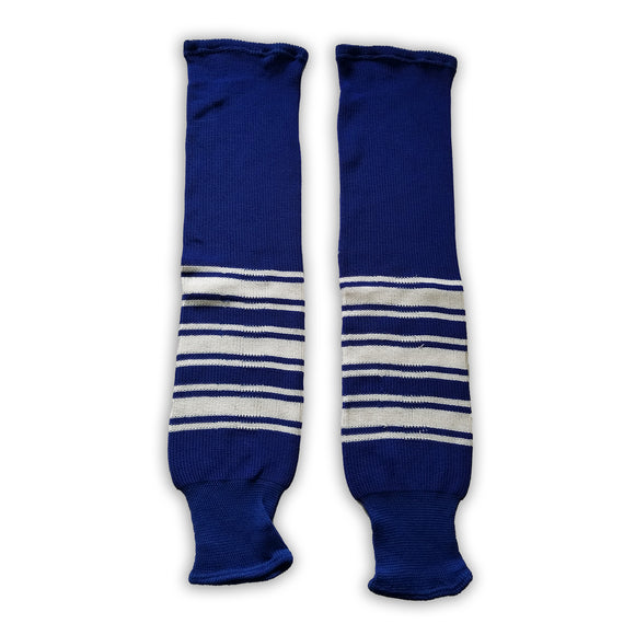K1 Sportswear Toronto Maple Leafs Royal Blue Knit Ice Hockey Socks